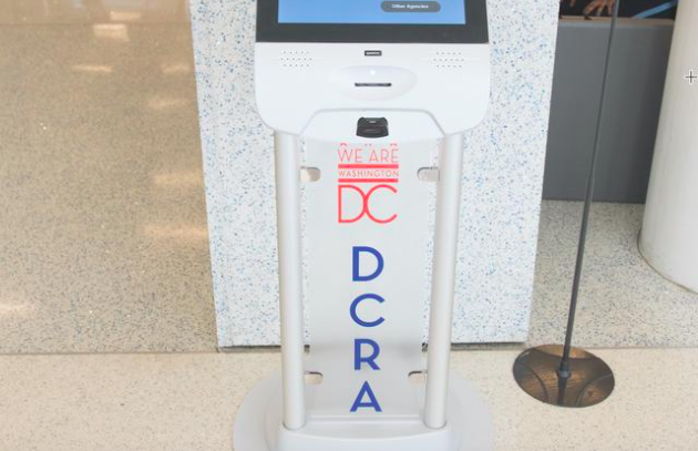 Photo of a D.C. Department of Consumer and Regulatory Affairs sign.